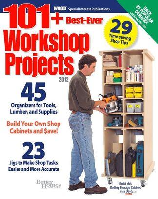 101 Best Ever Workshop Projects digital cover