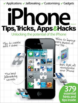 iPhone Tips, Tricks, Apps & Hacks Vol 6 digital cover