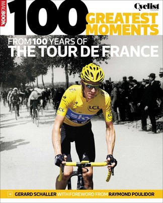 100 greatest moments from 100 years of the Tour De digital cover