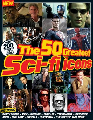 The 50 Greatest SciFi Icons digital cover