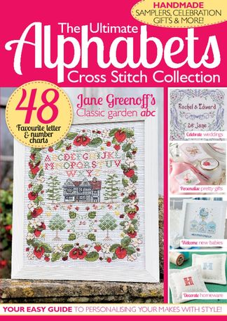 The Ultimate Alphabets Cross Stitch Collection digital cover