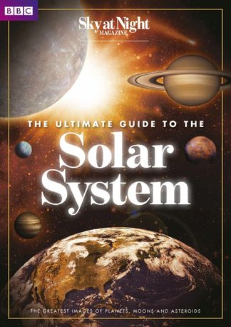 The Ultimate Guide to the Solar System from BBC Sk digital cover