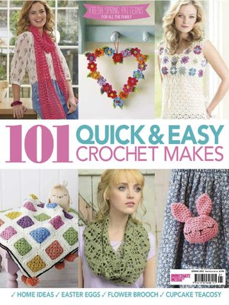 101 Quick & Easy Crochet Makes digital cover