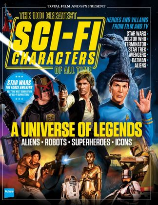 100 Greatest Sci-Fi Characters digital cover