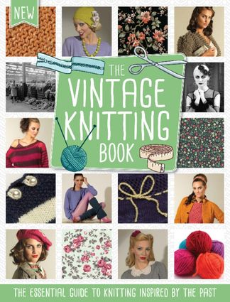 The Vintage Knitting Book digital cover