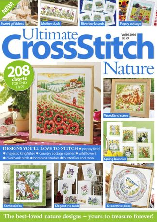 Ultimate Cross Stitch Nature digital subscription
