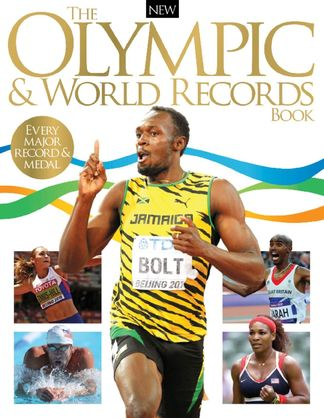 The Olympic & World Records Book digital cover