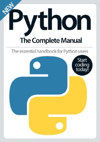 Python The Complete Manual digital cover