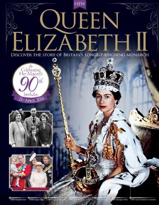 Queen Elizabeth II digital cover