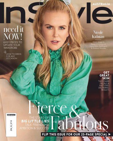 Instyle Magazine Australia digital cover
