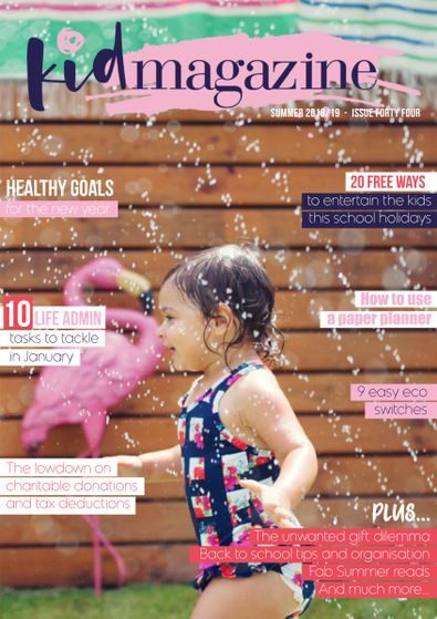 Kid Magazine digital cover