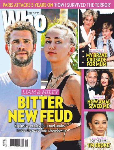 WHO digital cover
