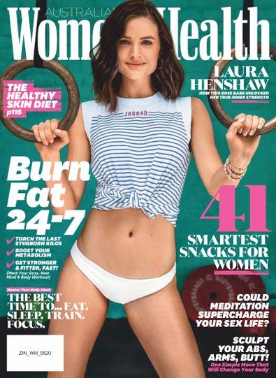 Women's Health Australia digital cover
