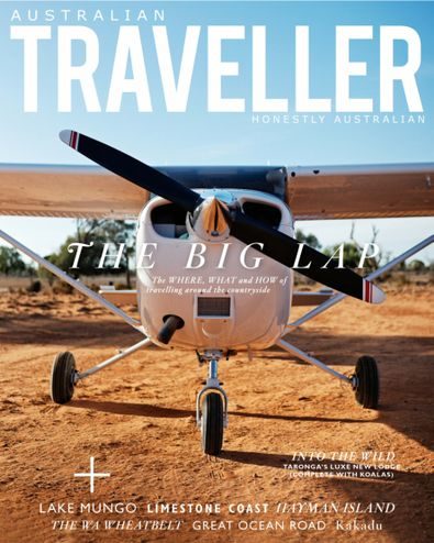 Australian Traveller digital cover