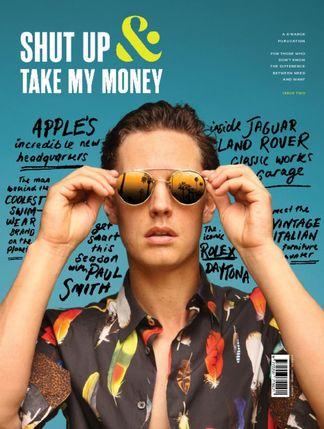 SHUT UP & TAKE MY MONEY digital cover