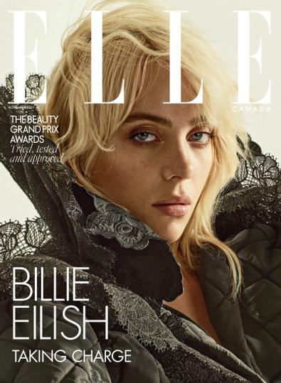Elle Canada digital cover