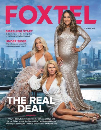 Foxtel Magazine digital cover