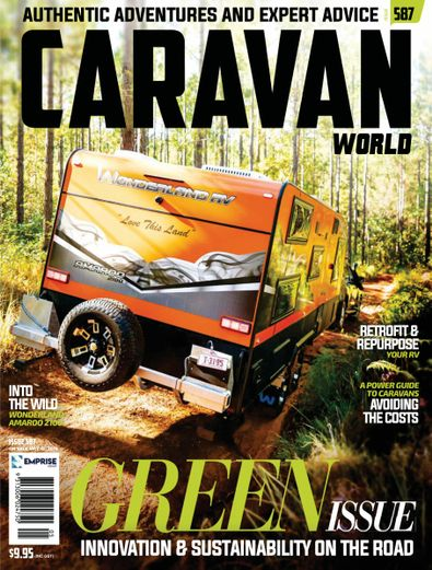 Caravan World digital cover