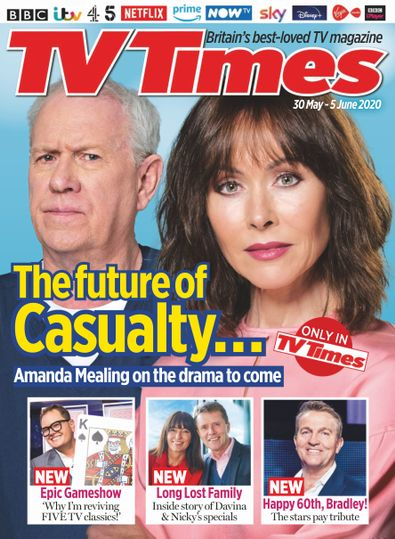 TV Times digital cover