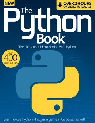 The Python Book digital cover