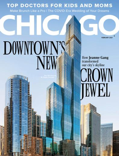 Chicago Magazine digital cover