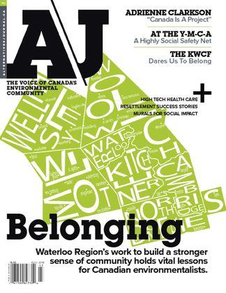 Alternatives Journal digital cover