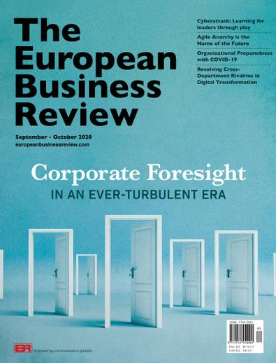 The European Business Review digital cover