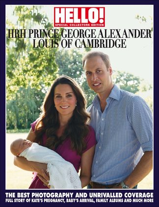 HELLO! Prince George Souvenir Edition digital cover