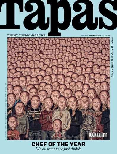 TAPAS - English Version digital cover