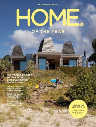 HOME Magazine NZ digital cover