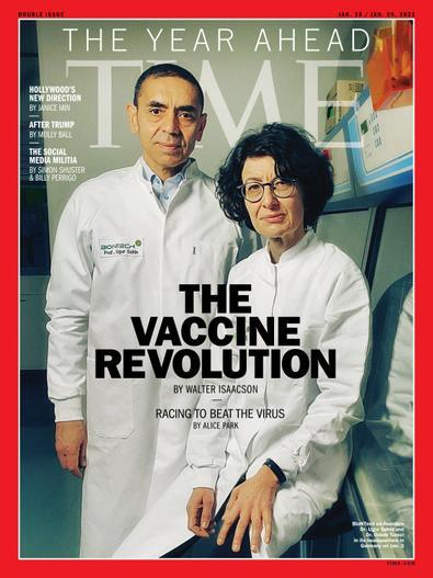 Time Magazine International Edition digital cover