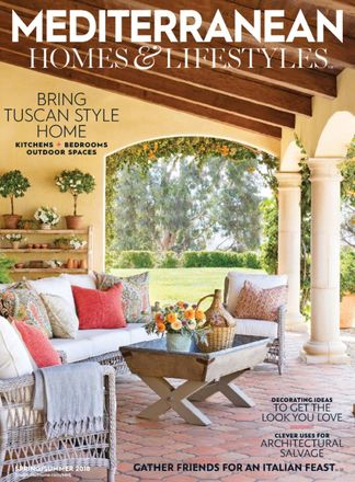 Mediterranean Homes & Lifestyles digital cover