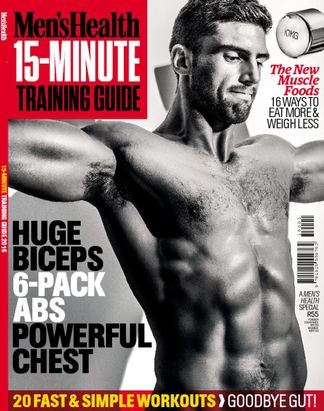 Mens Health 15 Min workouts digital cover