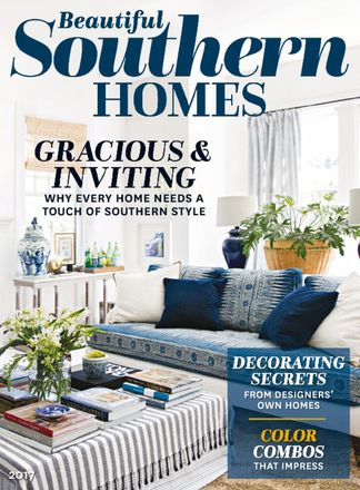 Beautiful Southern Homes digital cover