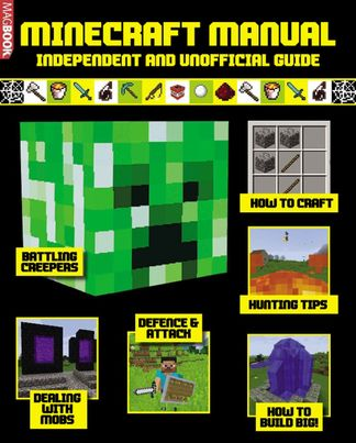 Minecraft Manual digital cover