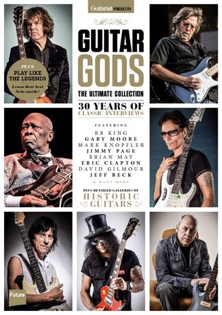 Guitarist Presents: Guitar Gods digital cover