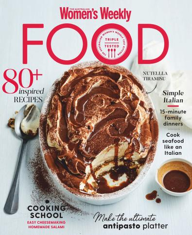 The Australian Women's Weekly Food digital cover
