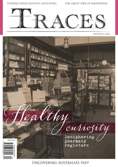 Traces digital cover