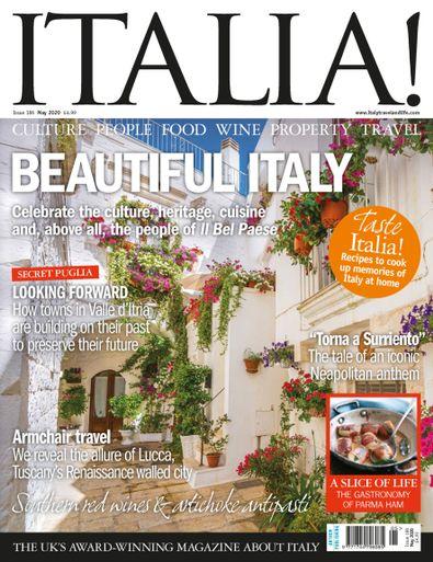 Italia magazine digital cover