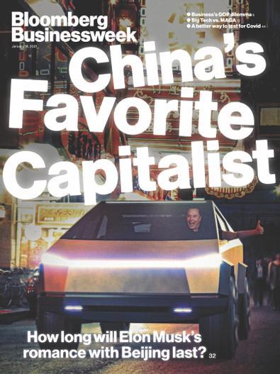 Bloomberg Businessweek-Europe Edition digital cover