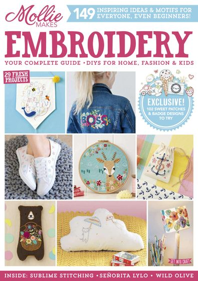 Mollie Makes Embroidery digital cover