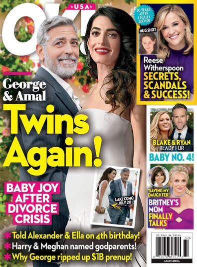 OK! Magazine digital cover