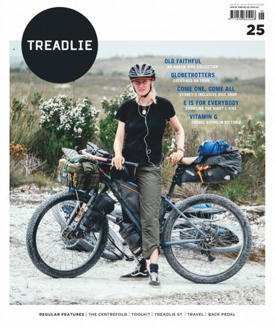 Treadlie Magazine digital cover