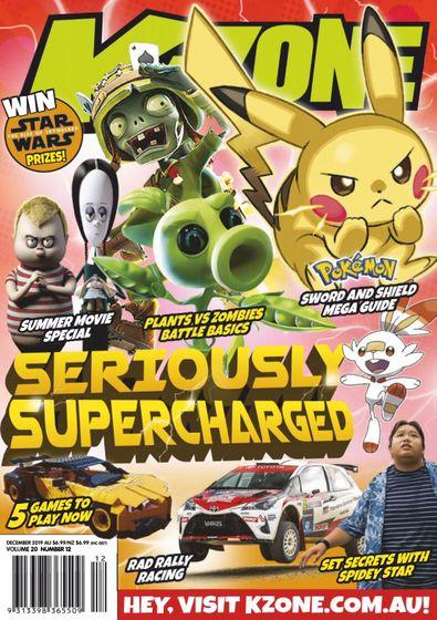 K-Zone digital cover