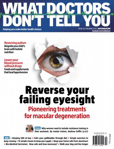What Doctors Don't Tell You Australia/NZ digital cover