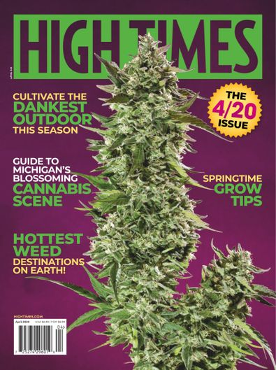 High Times digital cover