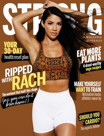 Strong Fitness Magazine Australia digital cover