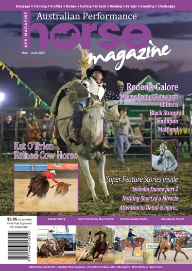Australian Performance Horse Magazine digital cover