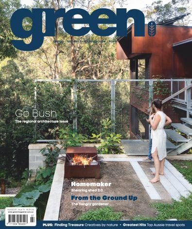 Green Magazine digital cover