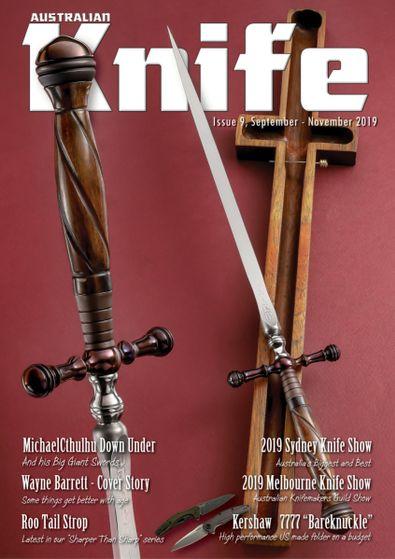 Australian Knife Magazine digital cover